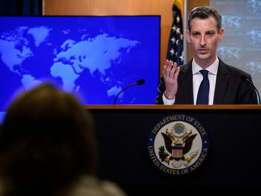 """Estados Unidos se declaró """"alarmado"""" por los acontecimientos en Nicaragua"""
