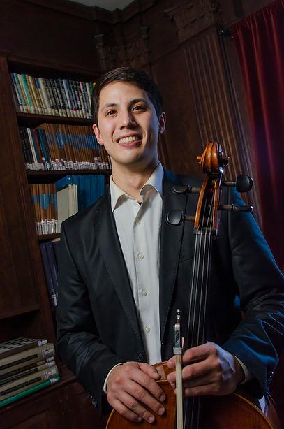 Videri String Quartet, Jeremiah Bacus, cello