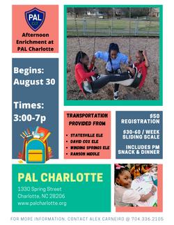PAL  Afterschool Info sheet