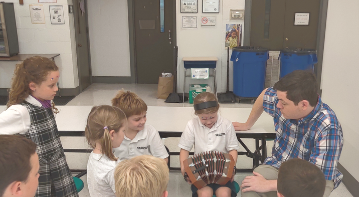 Learning the accordian