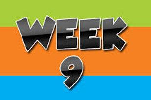 Summer Wk 9, August 9-13