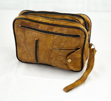 Petite pochette marron