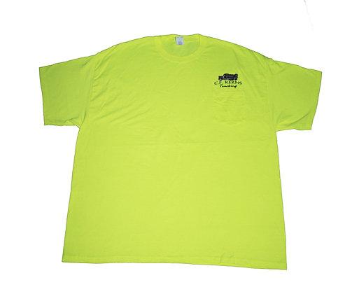 T-shirt camion fluo XXL