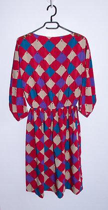 Robe arlequin T36/38