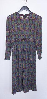 Robe plissée T40