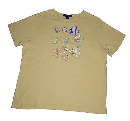 T-shirt poisson XL
