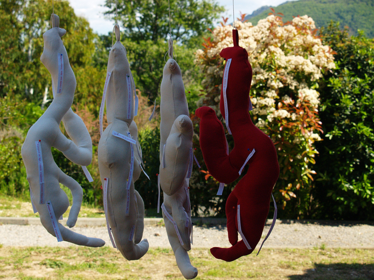 Anne Thébaud: Recycled Stuffed Motives- Octon-2009