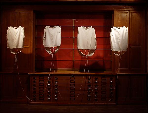 Camisoles Double Dutch installation 2011
