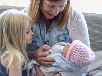 Regras de etiqueta para visitar o recém-nascido