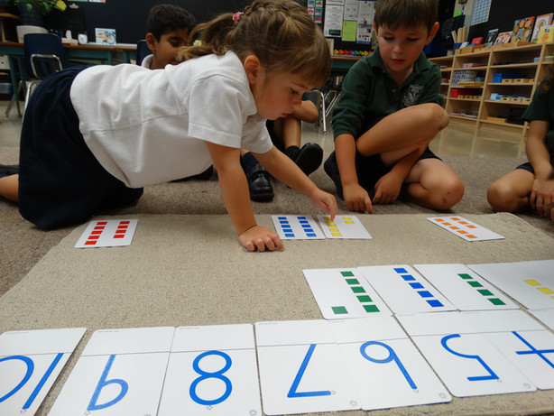 Math - matching number and quantity (3).