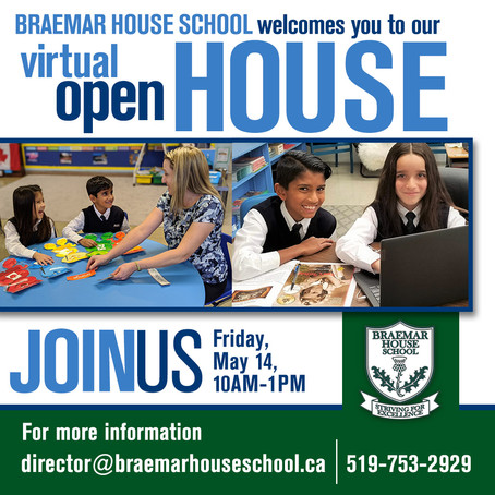 Virtual Open House - May 14, 2021