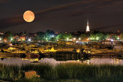 Newburyport Moon
