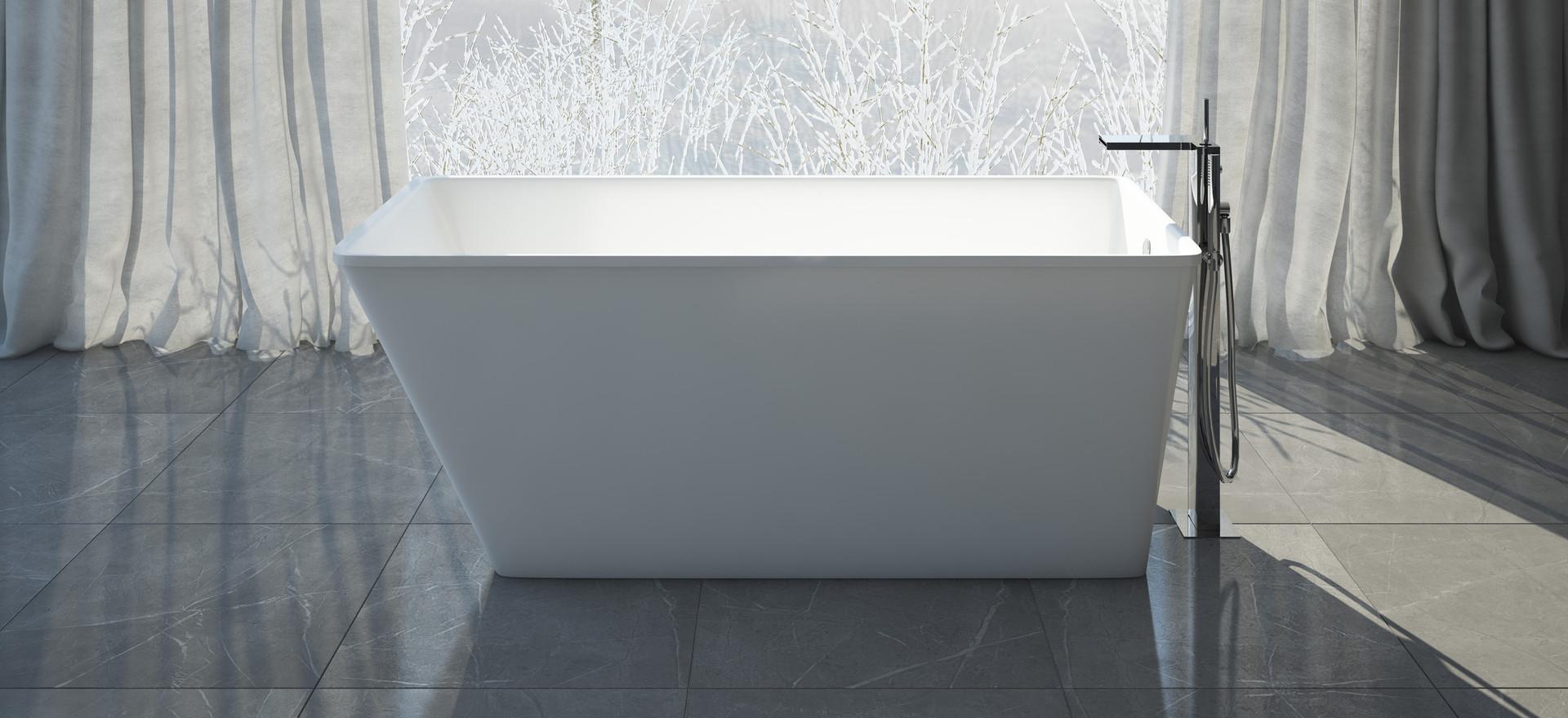 romano badewanne aus mineralguss