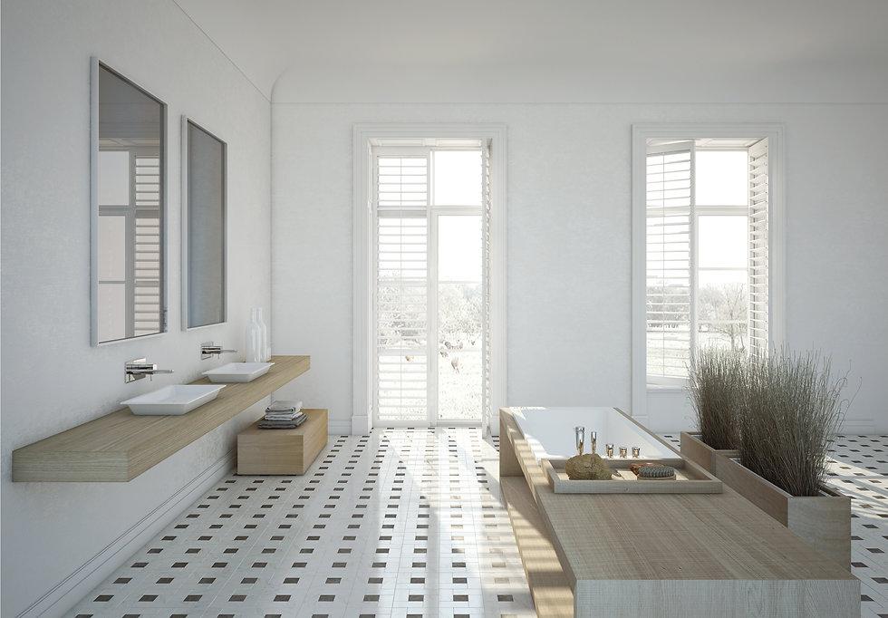 Design-Badewanne Bocca aus Mineralguss von CasaDiVanna