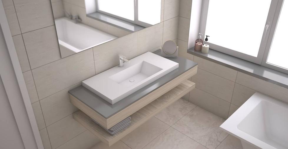 Rocca Aufsatzwaschbecken