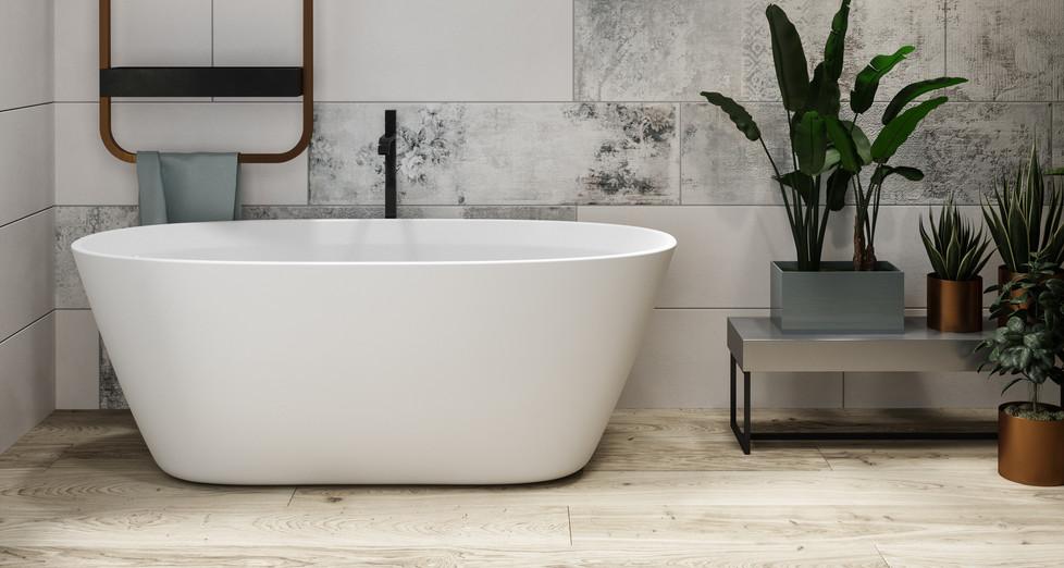 Borghese freestanding bathtub
