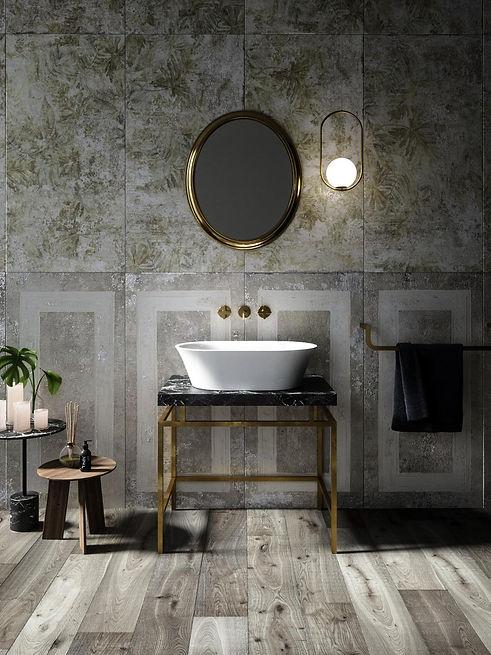 Fiori Aufsatzt-Waschbecken in matt weiß