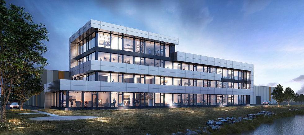 Büroneubau in Bremen des Projektentwicklers Peper & Söhne