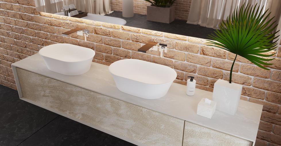 Aufsatzwaschbecken badezimmer