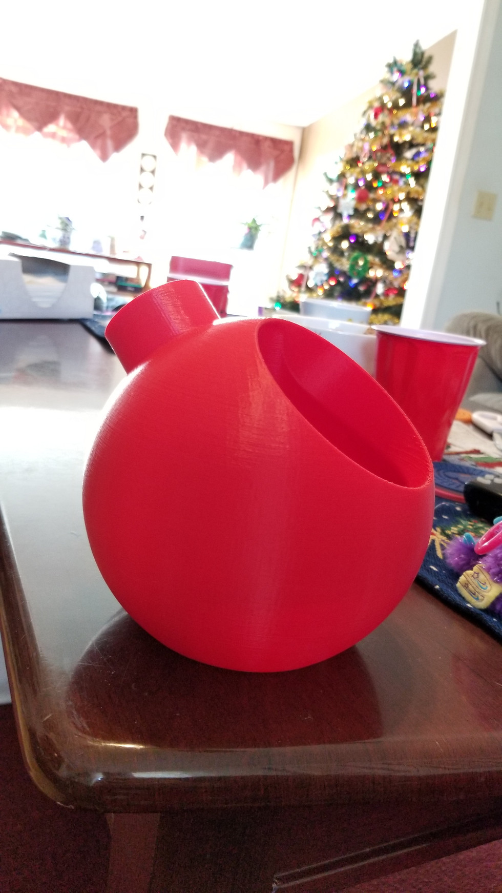 Ornament Candy Bowl