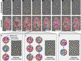 Direct observation and catalytic role of mediator atom in 2D materials