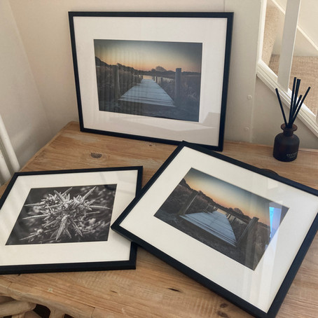 Framed images now available!