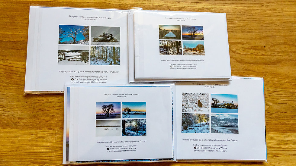 Christmas Cards - pack of, starting from