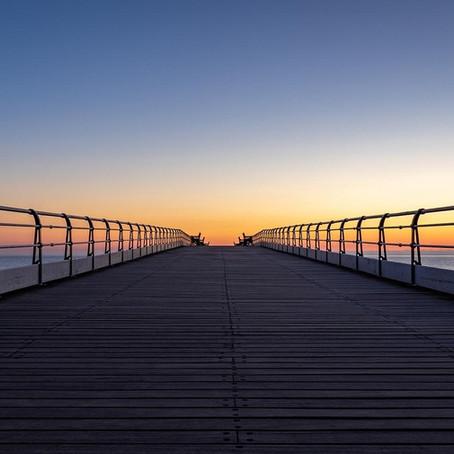 Coastal sunrise photography