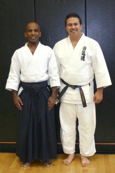 Thambu Sensei & Bradley Sensei