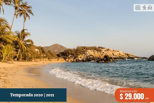 Playa Cristal | Pasadia | Santa Marta