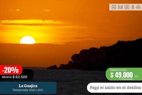La Guajira 2 días 1 noche iniciando desde Riohacha
