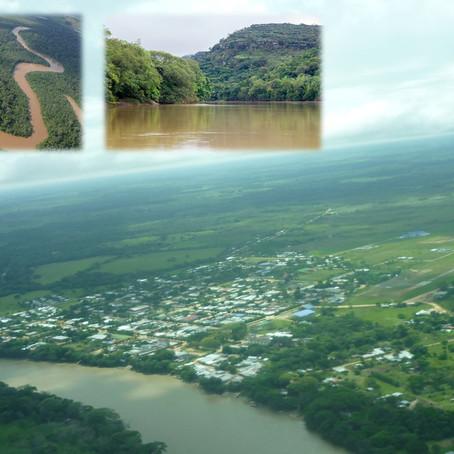 El río Guayabero es vida en la serranía de La Macarena-Meta.