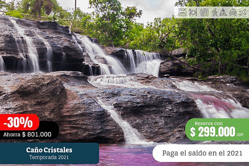 Caño Cristales 5 días 4 noches con tiquetes desde Bogotá