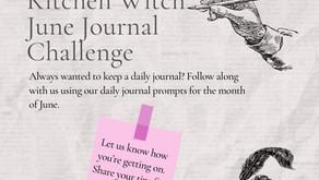Kitchen Witch June Journal Challenge by Sue James-Bristow