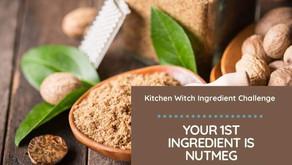 Nutmeg - Week 1 - Kitchen Witch Baking Challenge by Sue James-Bristow