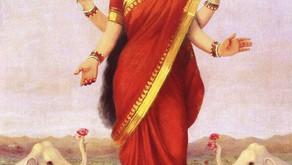Hindu Goddess Lakshmi by StormloverWolf