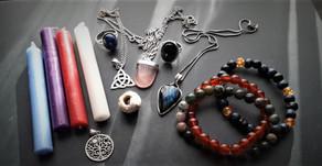 Moon Ritual to create a talisman by Heather