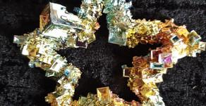 Crystal: Bismuth by Sue Perryman