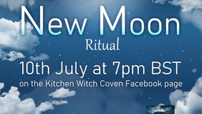 New Moon Ritual for New Ideas