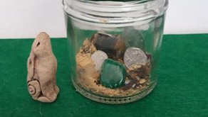 Prosperity Jar Spell for May by Sue Perryman