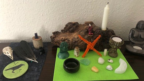 Spring Cleaning and Altar Cloths by Ness