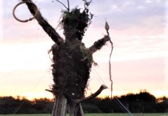 Inside the Wicker Man are….? By Heather