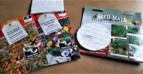 Seeds in Tapes and Mats by Heather