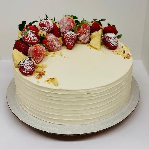 """8"""" Strawberry Shortcake"""
