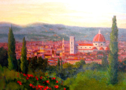A View of Florence Italy