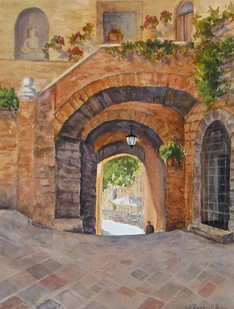 Arches in Assisi