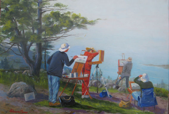 Painters on Monhegan