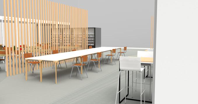 La caféteria - Space Design