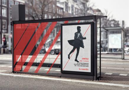 La Comédie Genève - graphic charter