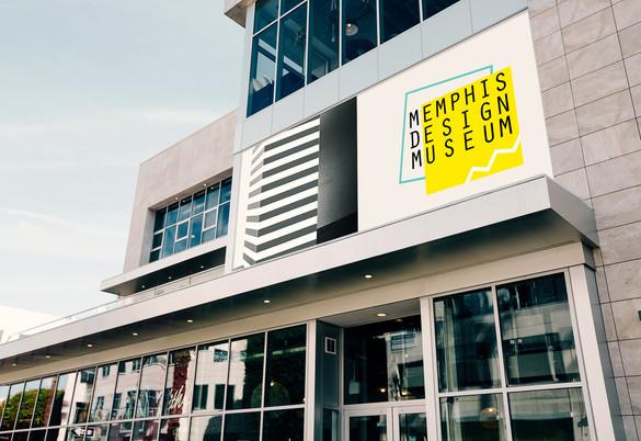 Memphis Design Museum - Logotype